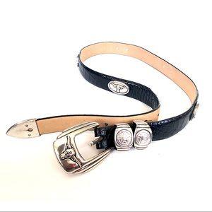 🔥 3/$20 WESTERN Texan Bull Studded Leather Belt